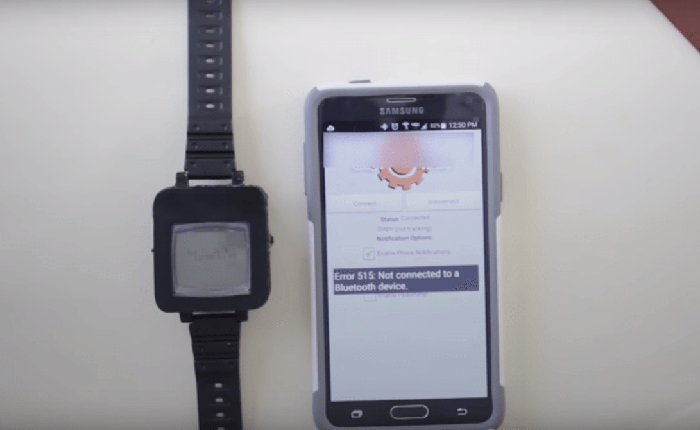Xem hacker Mỹ biến điện thoại cục gạch Nokia 1100 thành smartwatch