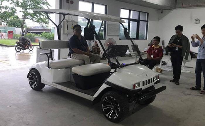 """Chủ tịch FSoft Hoàng Nam Tiến lên Facebook """"khoe"""" chiếc xe tự lái do FPT nghiên cứu, sẽ chạy thử tại Đà Nẵng ít ngày tới"""