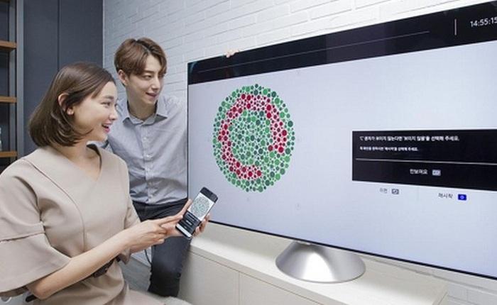 Samsung sắp ra mắt dòng TV cao cấp hỗ trợ người dùng bị mù màu vào năm 2018