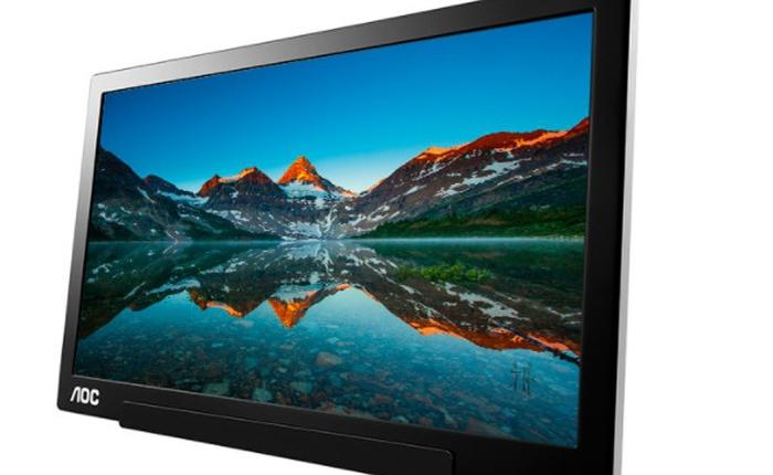AOC ra mắt màn hình siêu mỏng, nhẹ và sử dụng cổng USB Type-C