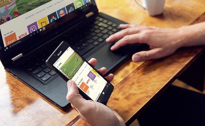 Trong một ngày không xa, thiết bị di động hỗ trợ Continuum sẽ thay thế hoàn toàn laptop