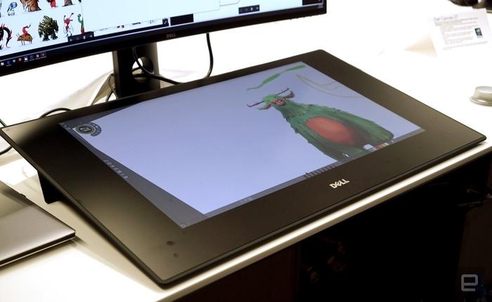Dell Canvas, đối thủ của Surface Studio lên kệ với giá 1.799 USD, rẻ hơn tới 200 USD so với giá công bố ban đầu