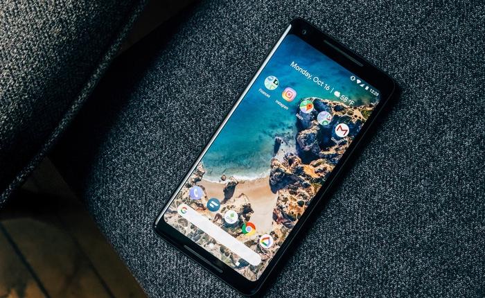 CEO Google tự hào nói Google Pixel 2 năm nay có lượng đặt hàng trước cao gấp đôi năm ngoái