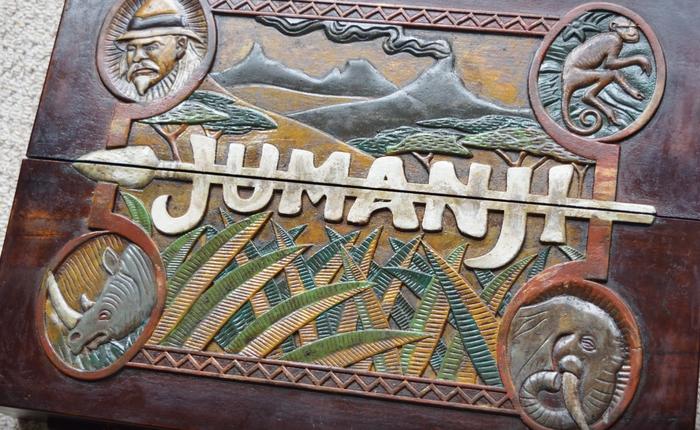 Bộ trò chơi Jumanji khiến tuổi thơ của bạn mê mẩn giờ đã được mang ra đời thực