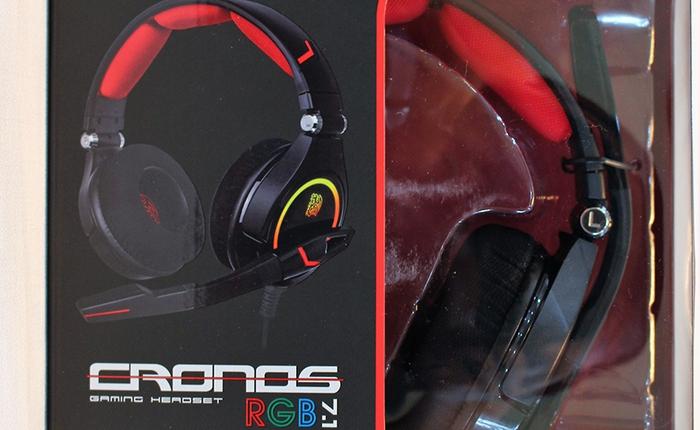 Đánh giá một gương mặt đến từ TteSPORTS. Gaming headset Cronos RGB 7.1 Chiếc tai nghe đa tài