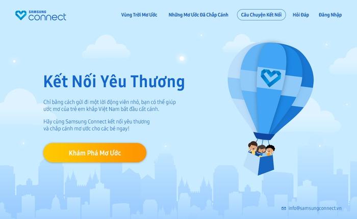 Samsung và hành trình kết nối những ước mơ cho trẻ em Việt