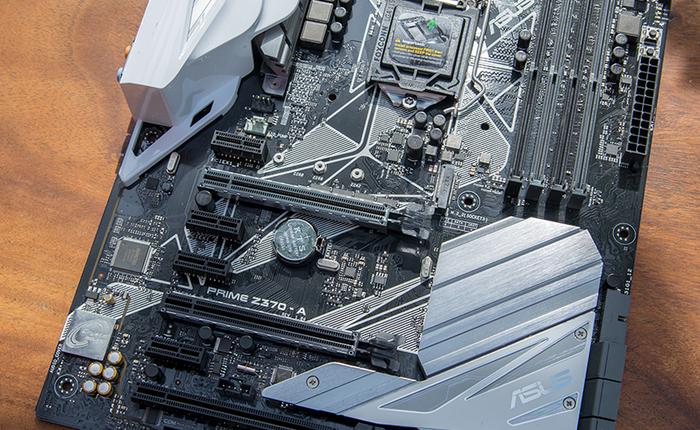 Đánh giá bo mạch chủ Asus Prime Z370 – A: Dành cho những ai còn yêu màu trắng