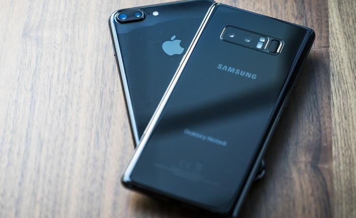 """So sánh hiệu ứng bokeh giữa Galaxy Note 8 và iPhone 7 Plus: chiến thắng về chất lượng cho Samsung, còn Apple thì """"dễ dùng"""" hơn"""