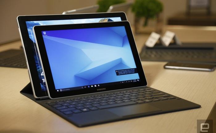[MWC 2017] Cận cảnh 2 chiếc Samsung Galaxy Book: Surface Pro 4 sẽ phải dè chừng