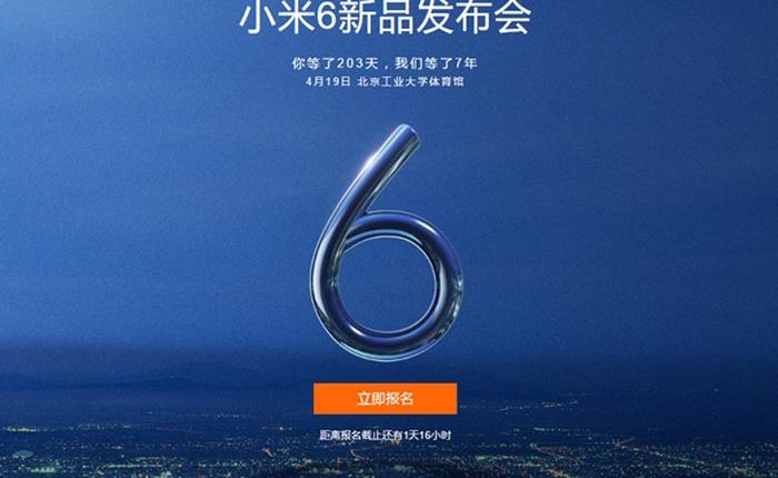 Xiaomi Mi 6 và Mi 6 Plus sẽ ra mắt chính thức vào ngày 19/4, chạy Snapdragon 835 mà giá chỉ bằng một nửa Galaxy S8