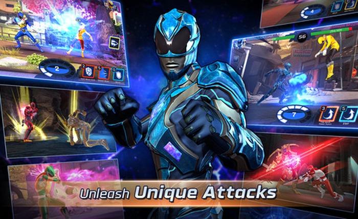 Tựa game ăn theo Power Rangers: Legacy Wars ra mắt miễn phí trên iOS và Android