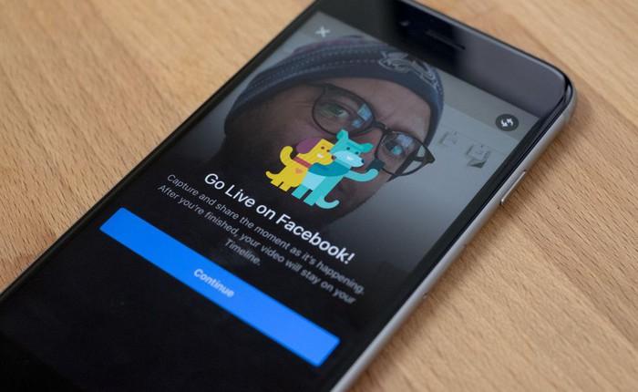 Facebook cho phép livestream cảnh tự làm đau bản thân
