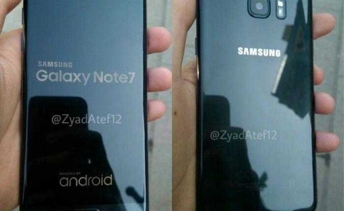 Lộ diện hình ảnh trên tay đầu tiên của Galaxy Note7 tân trang