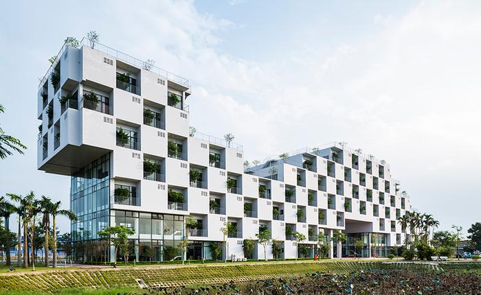 Đại học FPT do Võ Trọng Nghĩa Architects thiết kế lọt Top 10 công trình giáo dục tiêu biểu năm 2017