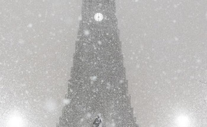 Tuyết rơi dày kỷ lục ở Iceland, biến nơi đây thành một vương quốc băng giá vô cùng lãng mạn