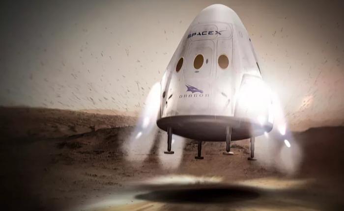 SpaceX phải lùi kế hoạch phóng tên lửa lên Sao Hỏa tới tận năm 2020, bắt đầu cuộc đua lên hành tinh này