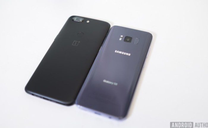 OnePlus 5T vs Samsung Galaxy S8: cái nào tốt hơn?