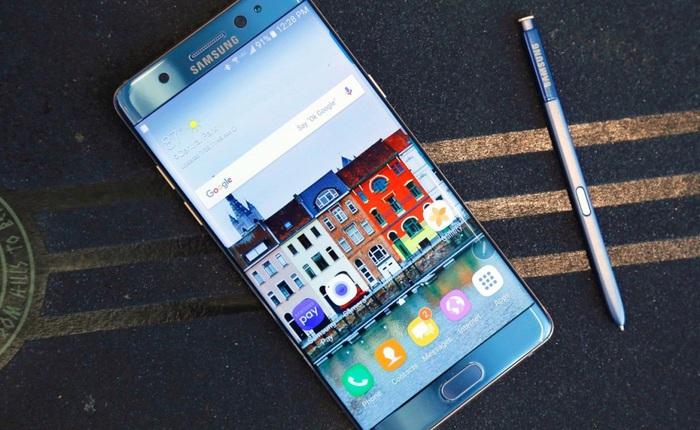 Samsung xác nhận sẽ không bán Galaxy Note7 tân trang tại Việt Nam