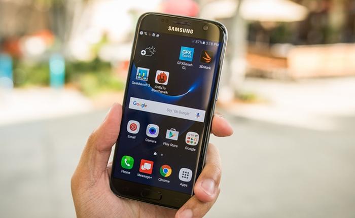 Samsung Galaxy S7 là mẫu smartphone được yêu thích nhất thế giới