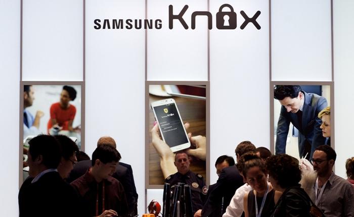 BlackBerry chuẩn bị trình làng hệ thống bảo mật cực hiện đại cho điện thoại Samsung