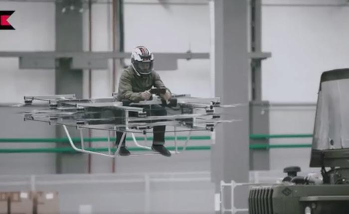 Thiết bị quân sự tiếp theo của Kalashnikov sẽ là xe bay?