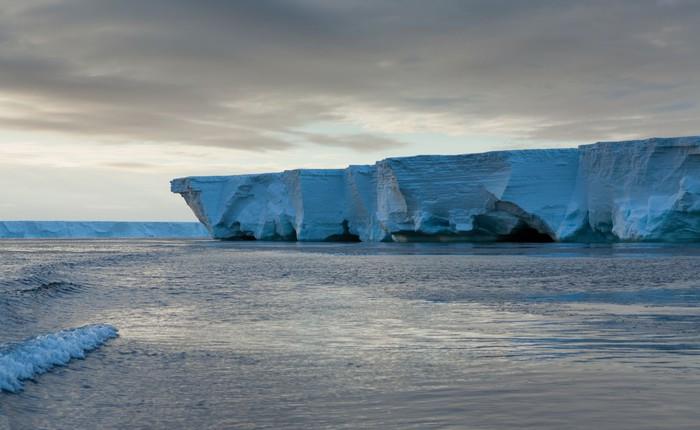 Phát hiện bất ngờ: thềm băng Nam Cực có thể tạo ra giai điệu rùng rợn như nhạc phim kinh dị