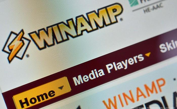 Ứng dụng nghe nhạc Winamp bất ngờ tái xuất sau 4 năm với phiên bản 5.8