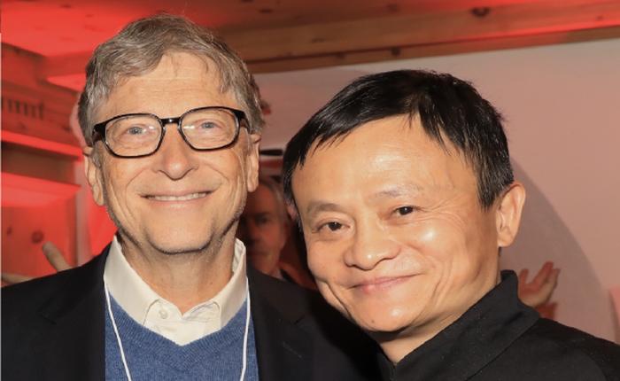 """Jack Ma từng ghét Bill Gates: """"Không thể giàu như Gates nhưng làm tốt hơn Gates 1 việc"""""""