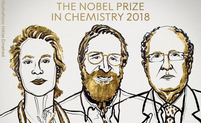 [Giải Nobel 2018] Nghiên cứu chế tạo enzyme mới giành giải Nobel Hóa học