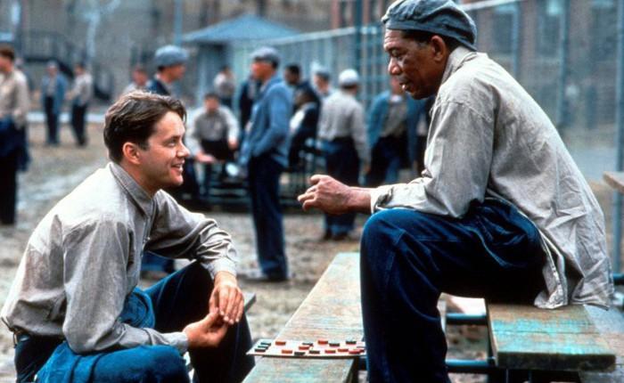 Shawshank Redemption được bình chọn là bộ phim xuất sắc nhất trong 30 năm trở lại đây