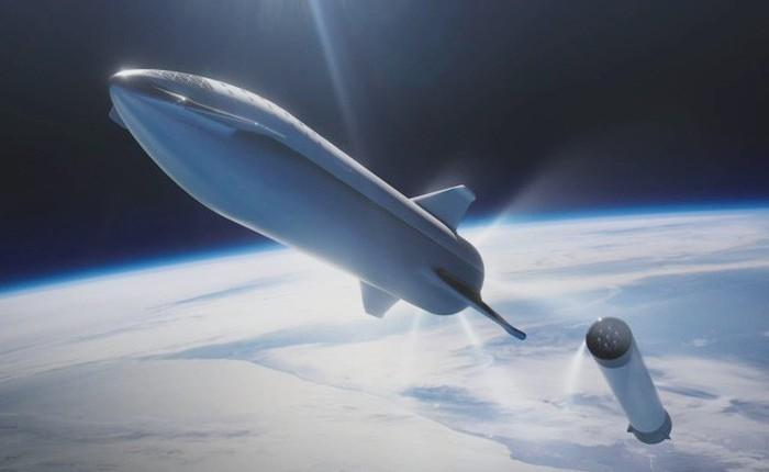Tên lửa Big F*** Rocket được Elon Musk đổi tên thành Starship Super Heavy