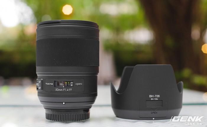 Ống kính Tokina Opera 50mm f/1.4: chất lượng hình ảnh rất cao, hoàn thiện tốt, có ngàm cho Canon và Nikon, giá 20,9 triệu