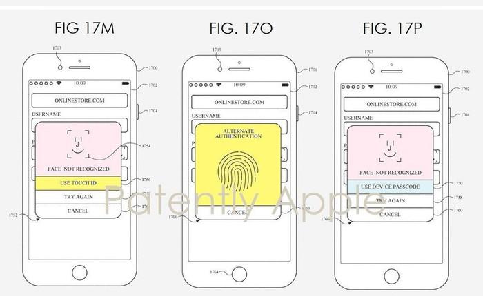 Apple có thể kết hợp công nghệ Face ID và Touch ID cho các thế hệ iPhone trong tương lai