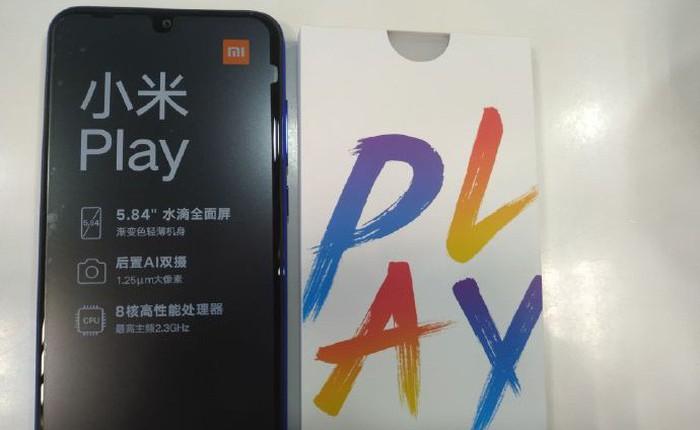 Lộ ảnh mở hộp và video trên tay smartphone Xiaomi Play