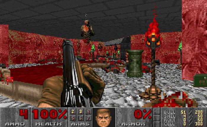 Phần mềm kỳ lạ có khả năng biến bản đồ số của robot hút bụi thành map game Doom