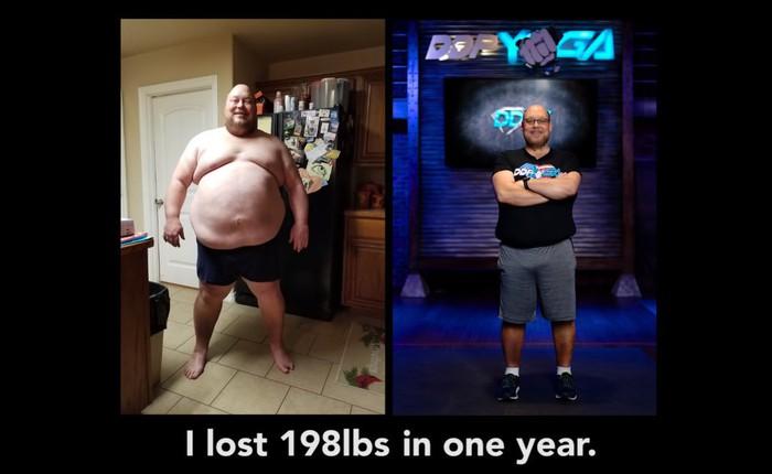 """Hành trình giảm 90kg của ông bố 3 con nặng hơn 2 tạ: """"Tôi làm được bạn cũng làm được"""""""