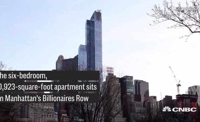 Thừa tiền, Michael Dell chơi sang mua căn hộ penthouse trị giá 100 triệu USD
