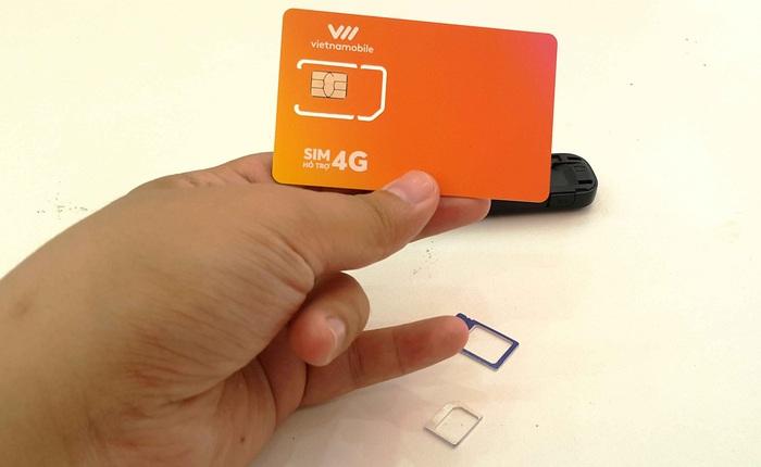 Vietnamobile cũng đã cung cấp dịch vụ 4G và đây là hướng dẫn đổi SIM 4G miễn phí, rất tiếc chưa dùng được cho iPhone
