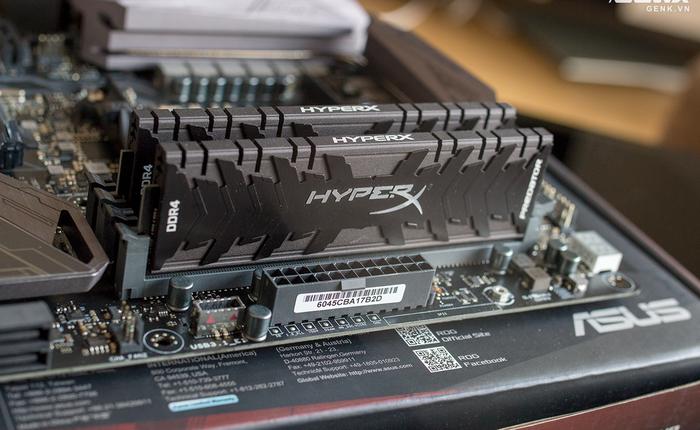 Kingston HyperX Predator: Thương hiệu quá quen thuộc với thị trường Việt Nam nhưng đến tận bây giờ mới có RAM cao cấp