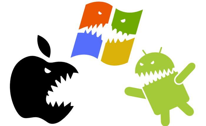 Mỹ: Khảo sát cho thấy mức độ phổ biến của Microsoft đối với người tiêu dùng còn cao hơn cả Apple và Google