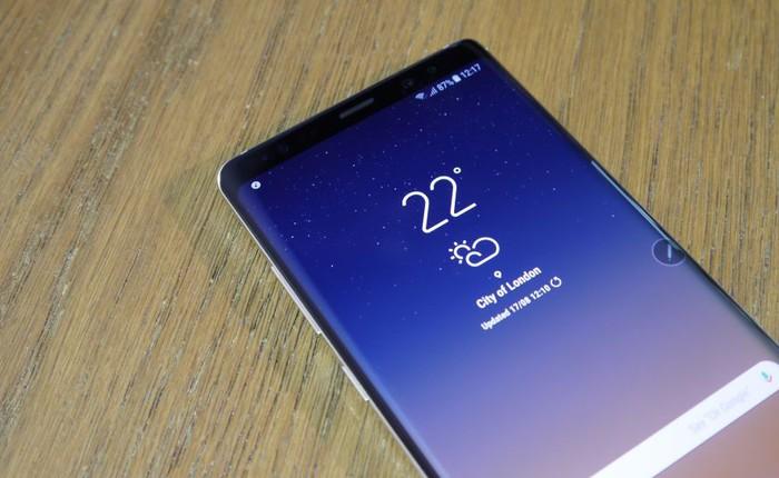 Samsung Galaxy Note9 và Huawei Mate 11 sẽ sở hữu cảm biến vân tay dưới màn hình?