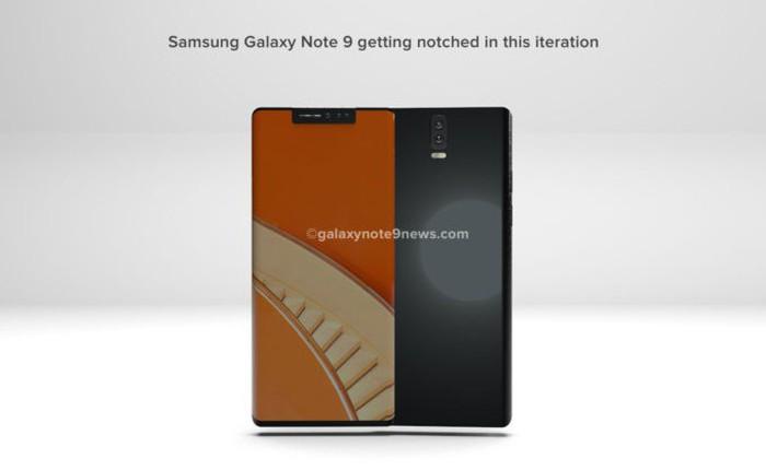 """Bản concept Galaxy Note9 gây ấn tượng với thiết kế """"tai thỏ"""""""