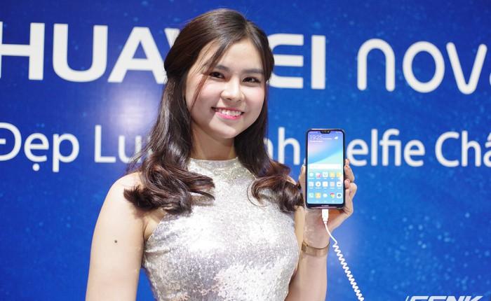Huawei Nova 3e chính thức ra mắt tại Việt Nam: màn hình tai thỏ tỷ lệ 19:9, camera kép, nhận diện khuôn mặt, giá chỉ 6,990,000 đồng