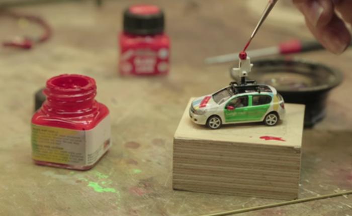 Google dùng xe Street View tí hon để quay phim thành phố mô hình, kết quả thu được cực kỳ tuyệt vời