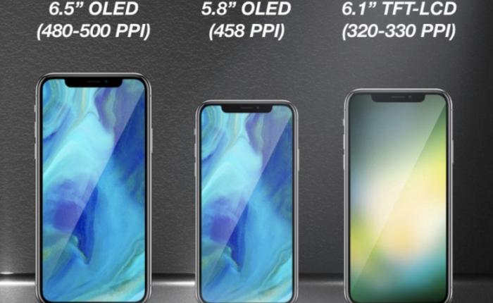 Màn hình MLCD+ của LG chính là chìa khóa giúp Apple ra mắt iPhone X giá rẻ trong năm nay