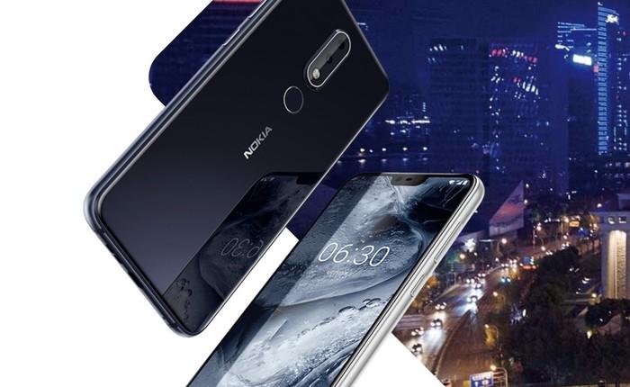 Nokia X6 chính thức ra mắt, 95% thân máy được phủ kính, camera kép, chip Snapdragon 636, 6GB RAM, giá 205 USD