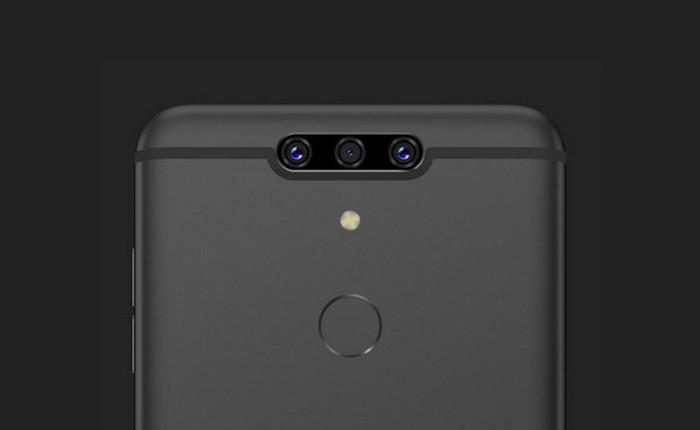 360 N7: chiếc smartphone lạ với 3 camera ở phía sau