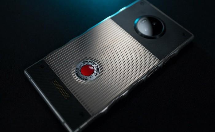 RED công bố dự án camera 8K 3D dành cho smartphone holographic Hydrogen One