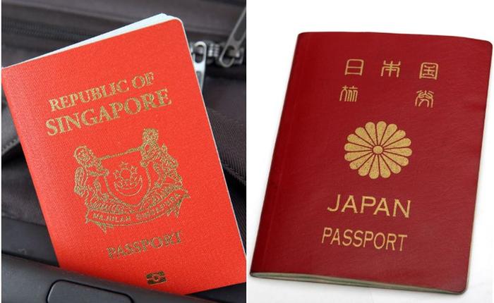 Nhật Bản đã trở thành quốc gia có hộ chiếu quyền lực nhất thế giới, Singapore về nhì
