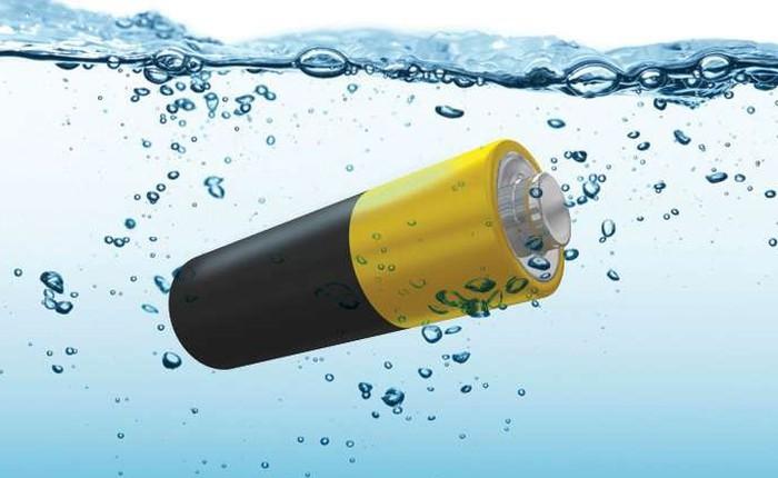 Loại pin dựa trên nước này cung cấp khả năng lưu trữ năng lượng ở quy mô lớn